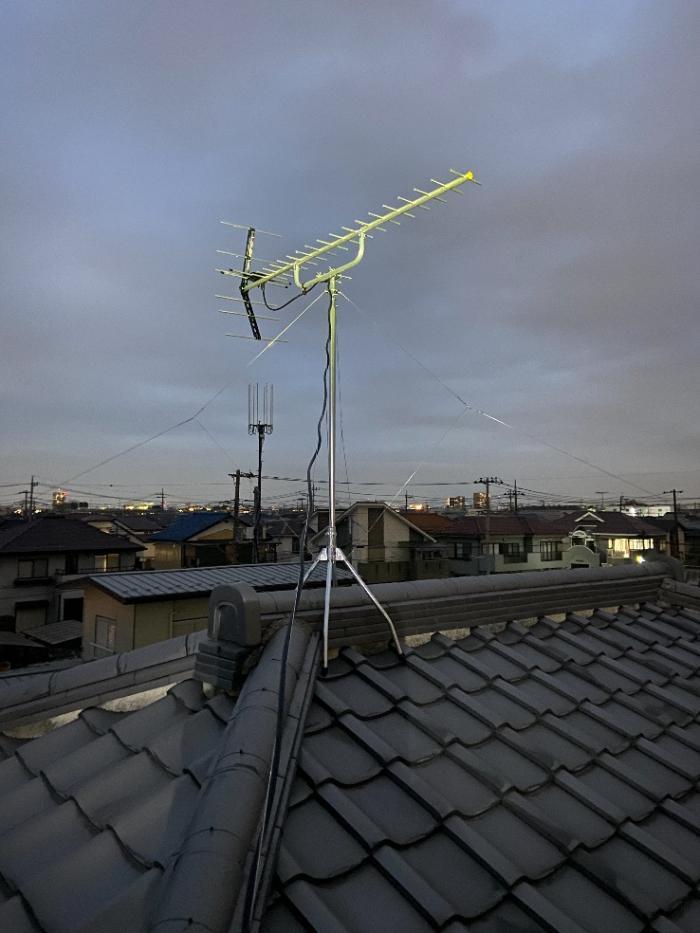 上尾市浅間台|八木式アンテナ工事