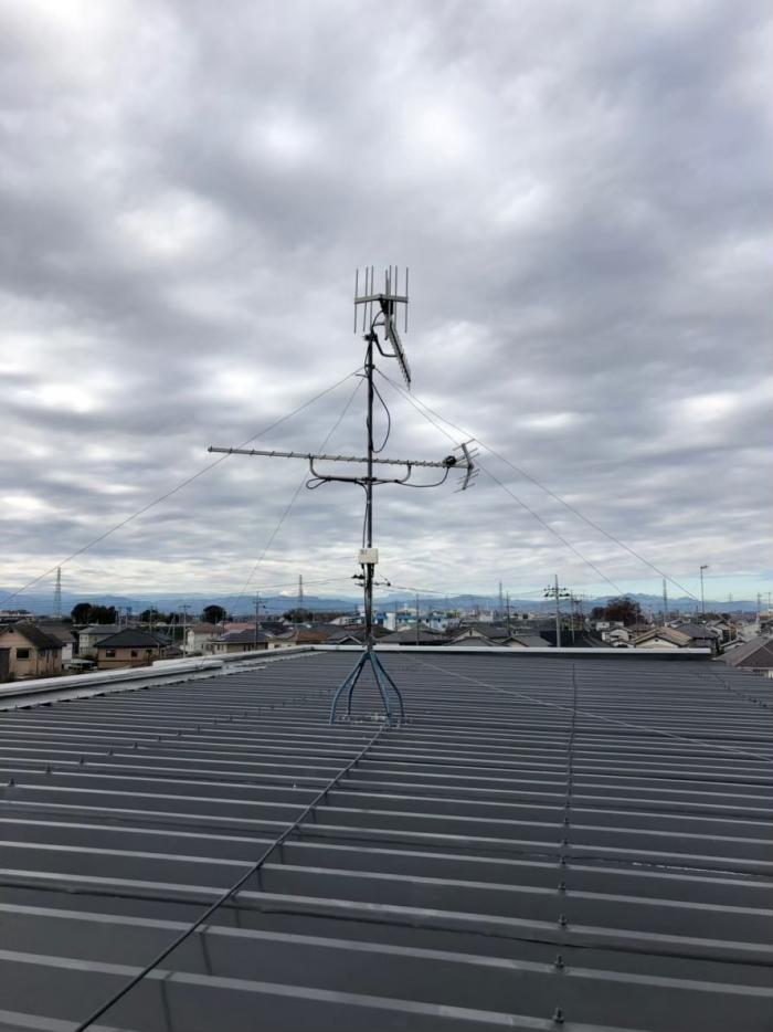 熊谷市代|UHFアンテナ方向調整工事