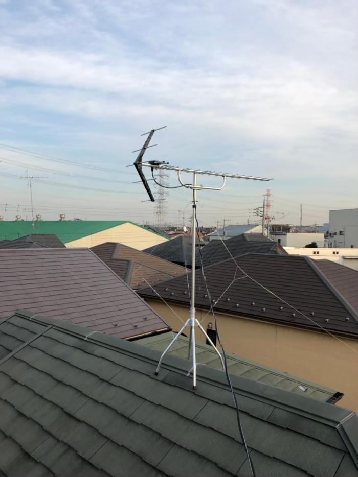 上尾市上尾村|UHFアンテナ工事