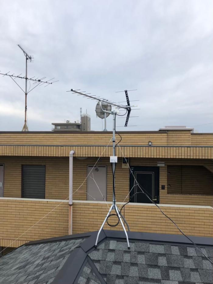 所沢市弥生町|UHFアンテナ工事