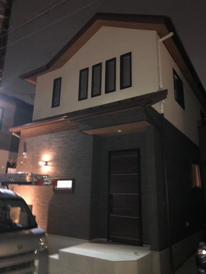 上尾市栄町|デザインアンテナ工事