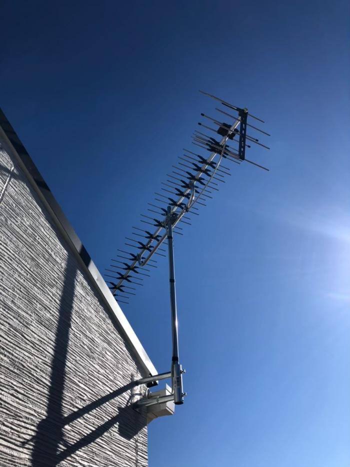 目黒区中央町|高性能UHFアンテナ工事