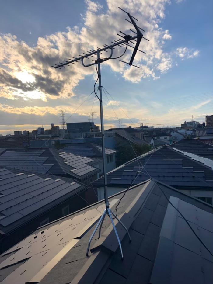 足立区西新井|UHFアンテナ工事