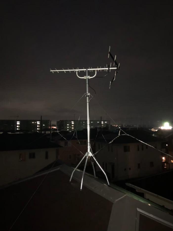 鴻巣市吹上富士見|UHFアンテナ工事