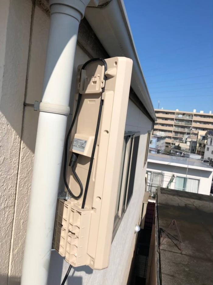 大田区新蒲田|デザインアンテナ+既設アンテナ撤去工事