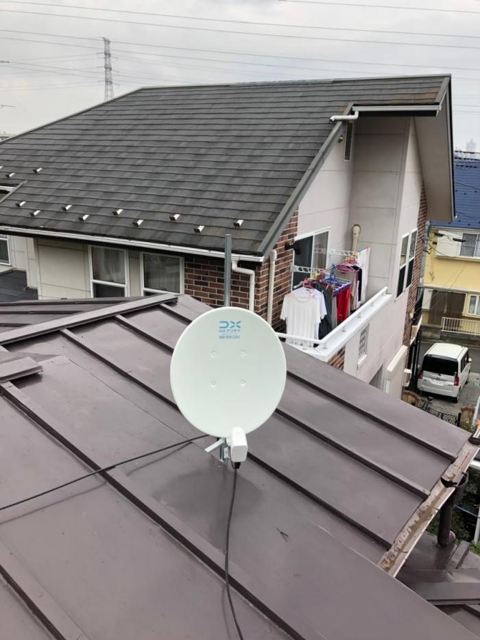 所沢市山口|BS/CSアンテナ工事