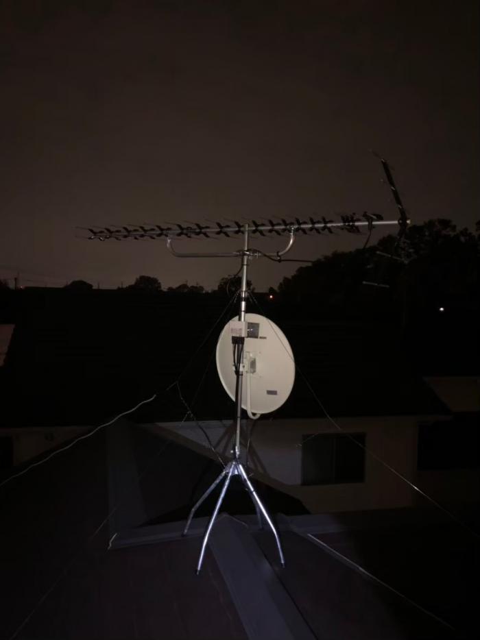 東松山市あずま町|高性能UHFアンテナ+BS/SCアンテナ工事