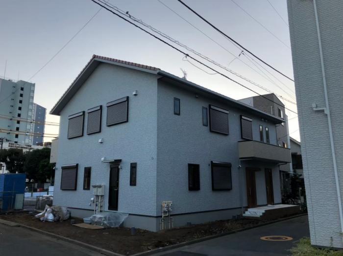 新宿区戸山|UHFアンテナ+BS/CSアンテナ工事