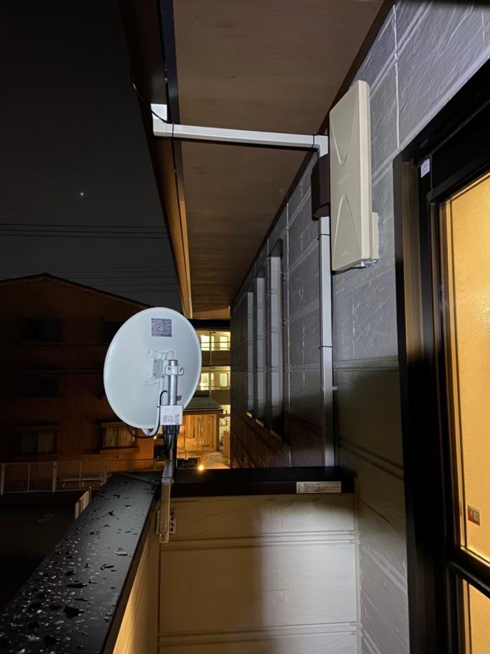 所沢市東所沢|デザインアンテナ+BS/CSアンテナ工事|ダイワハウス