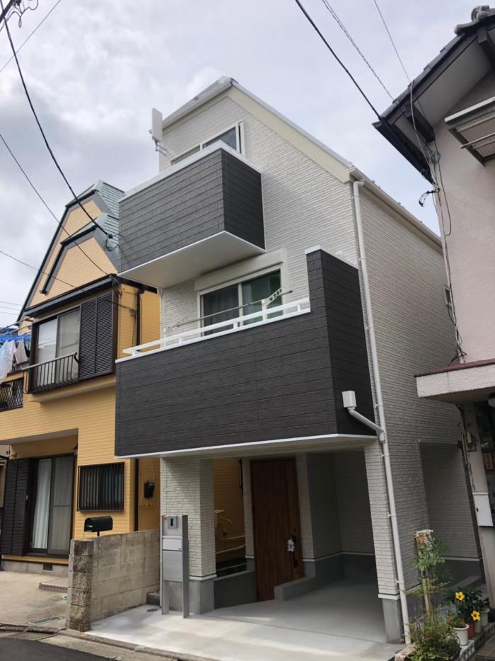 大田区仲六郷|デザインアンテナ工事