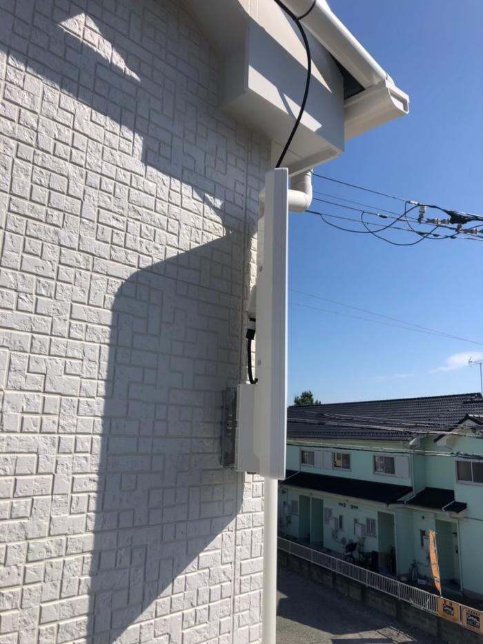 川口市峯 デザインアンテナ工事