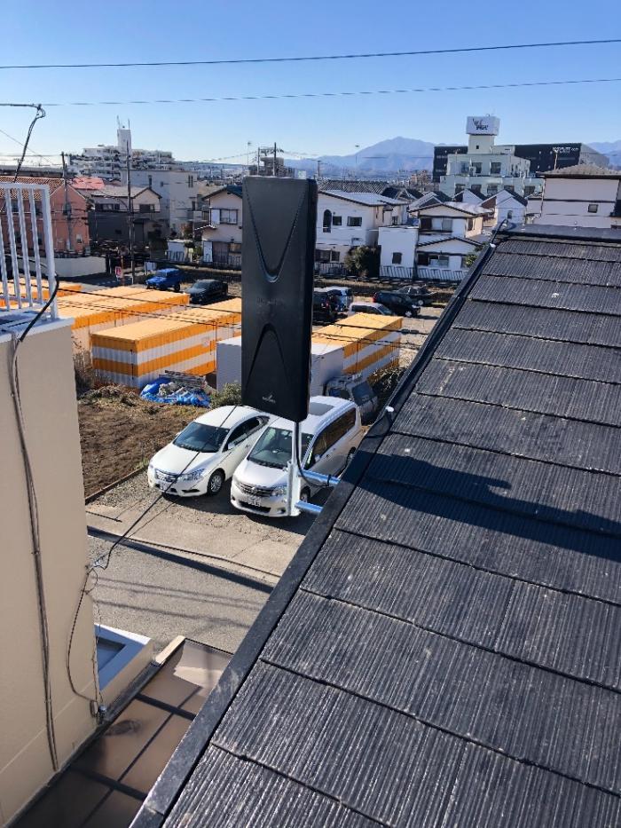 相模原市中央区上溝|デザインアンテナ工事