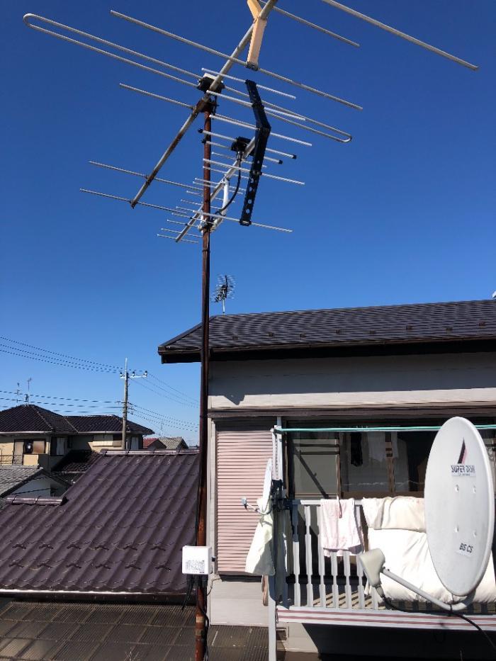 千葉市緑区高都度町|UHFアンテナ工事