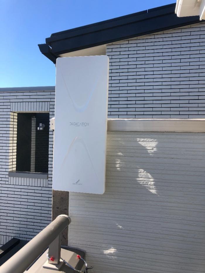 あきる野市小川 デザインアンテナ工事