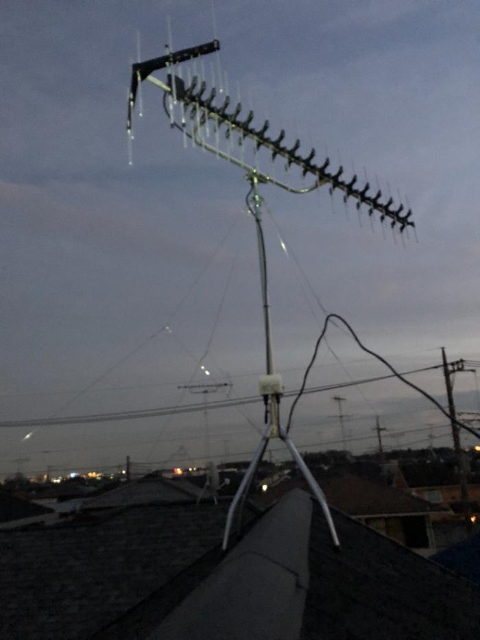 大和市南林間|UHFアンテナ工事