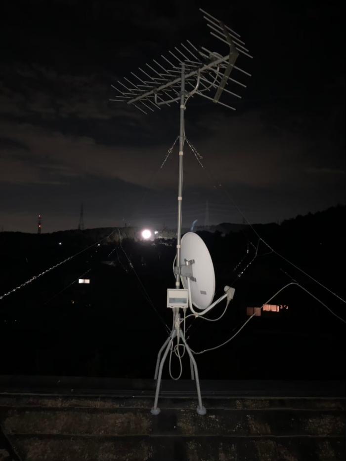 毛呂山町大谷木 BSアンテナ調整工事