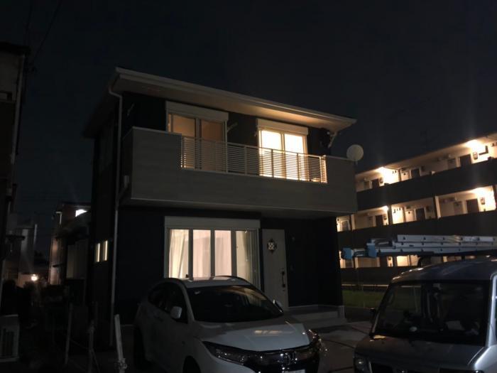 越谷市レイクタウン デザインアンテナ+BS/CSアンテナ工事 住宅情報館