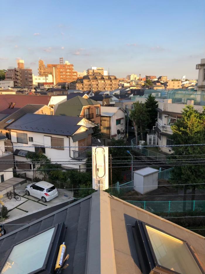 東京都北区滝野川|デザインアンテナ工事