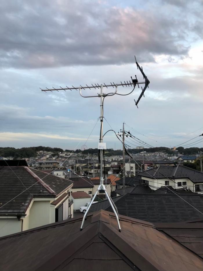 所沢市山口|UHFアンテナ工事