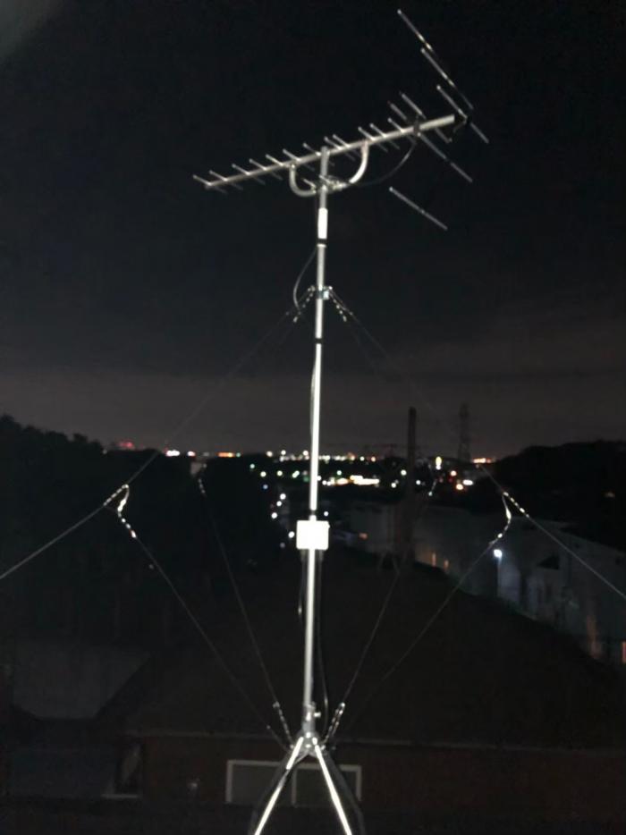 流山市流山 UHFアンテナ+既設アンテナ撤去工事