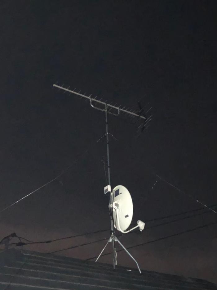 港北区鳥山町|UHFアンテナ+BS/CSアンテナ工事