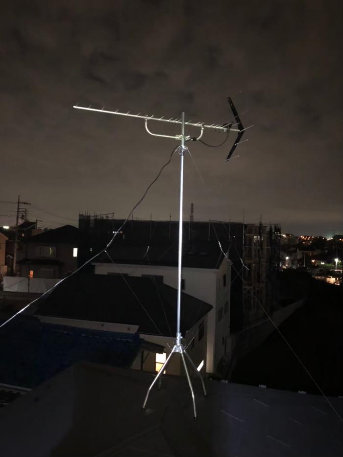さいたま市北区日進町 UHFアンテナ工事