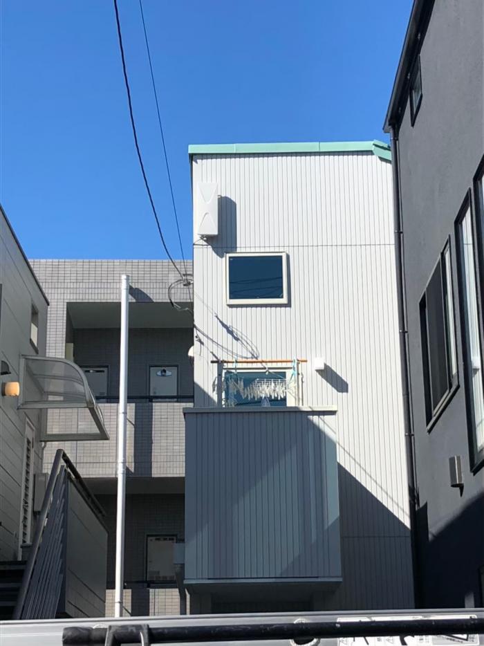 杉並区阿佐ヶ谷北 デザインアンテナ工事