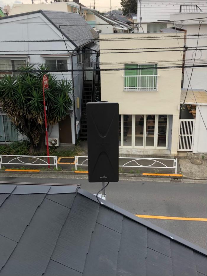 世田谷区赤堤 デザインアンテナ工事