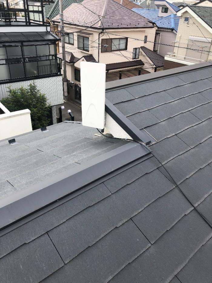 杉並区高井戸東 デザインアンテナ工事