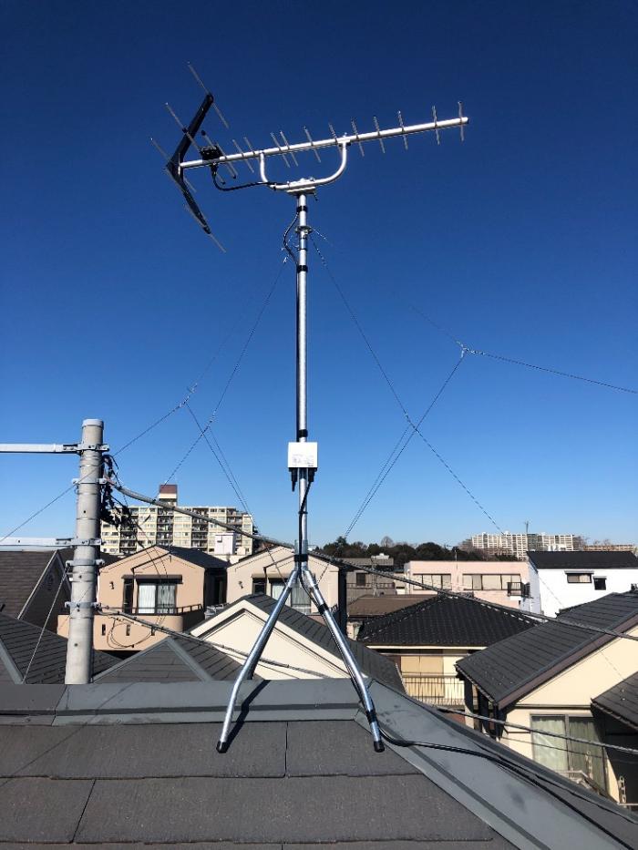 西東京市緑町|UHFアンテナ工事