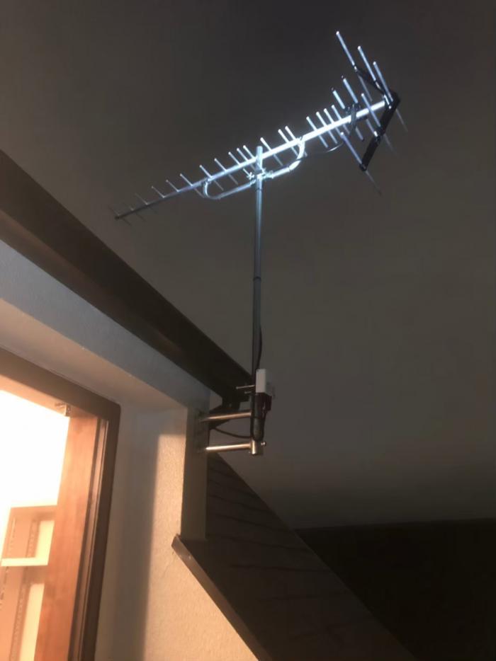 品川区大井|UHFアンテナ+既設アンテナ撤去工事