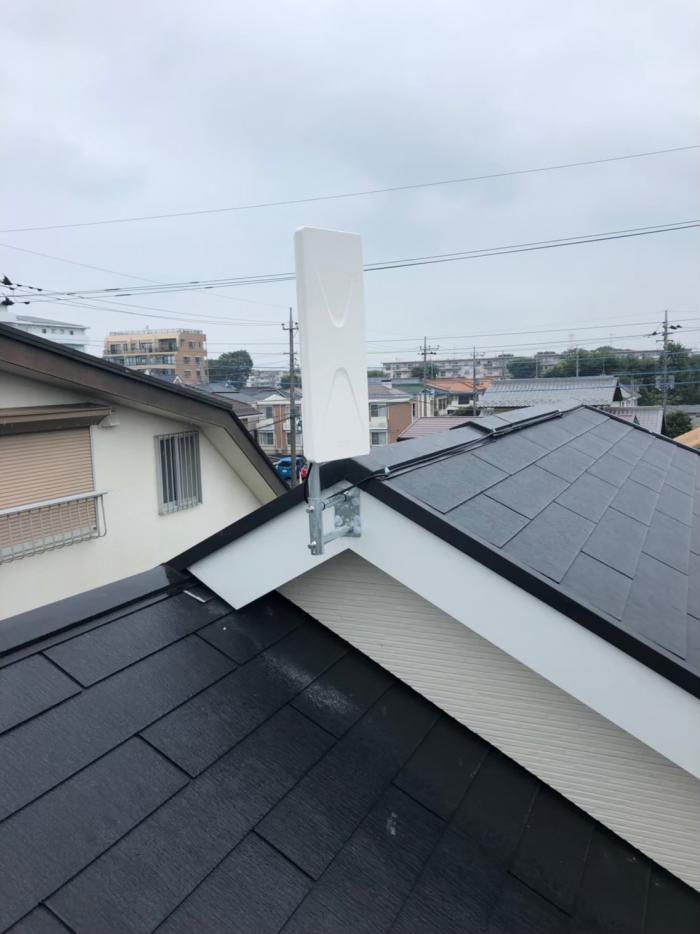 坂戸市溝端町|デザインアンテナ工事