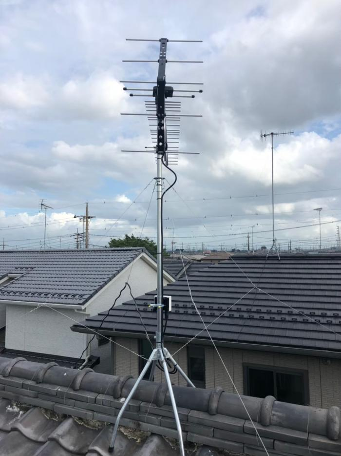 行田市持田|UHFアンテナ工事
