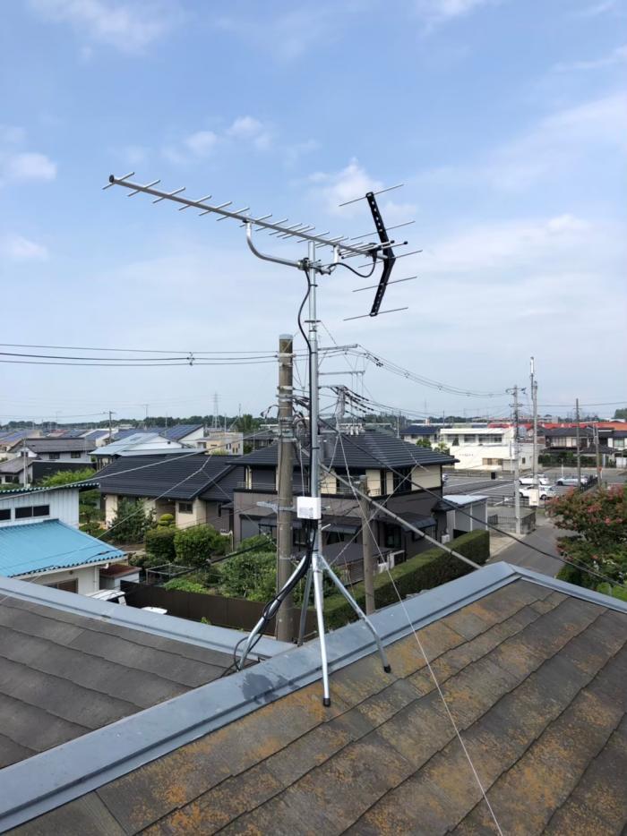 上尾市浅間台|UHFアンテナ工事