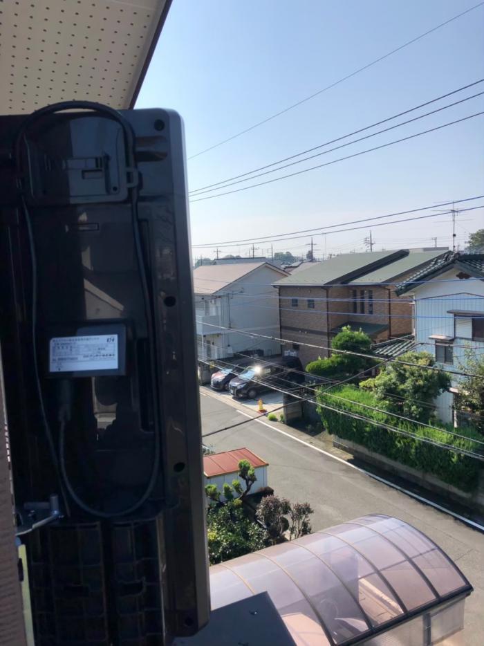 上尾市錦町|デザインアンテナ工事