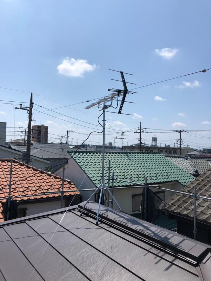 さいたま市南区太田窪|UHFアンテナ工事