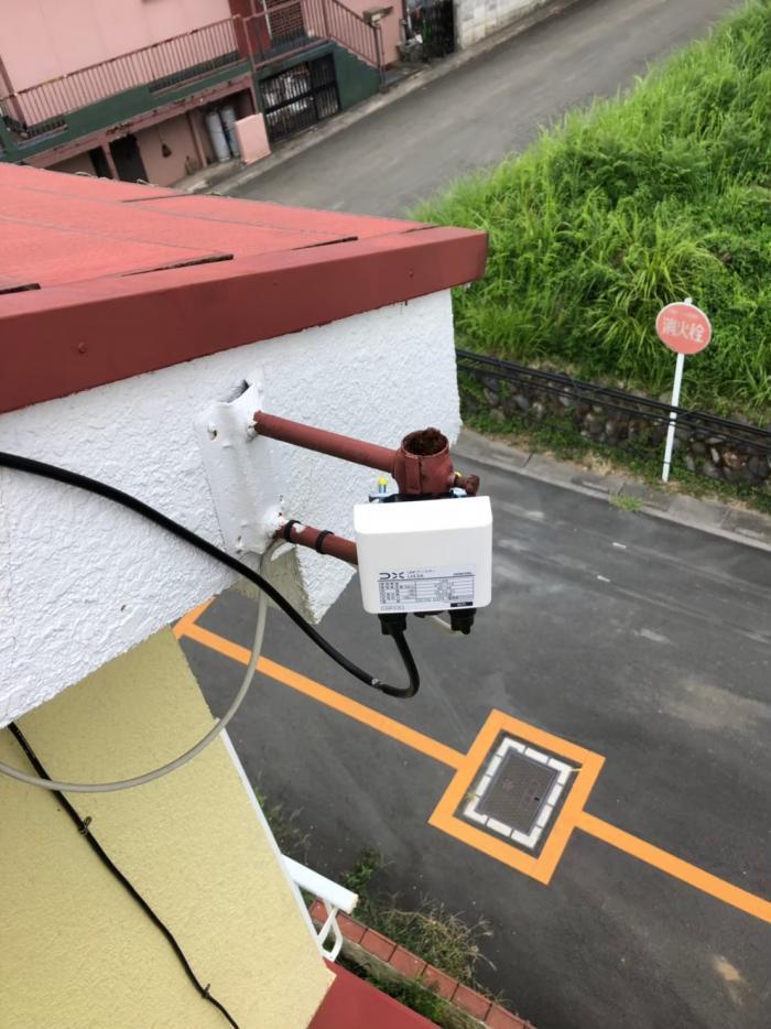 東松山市大谷|ブースター交換工事